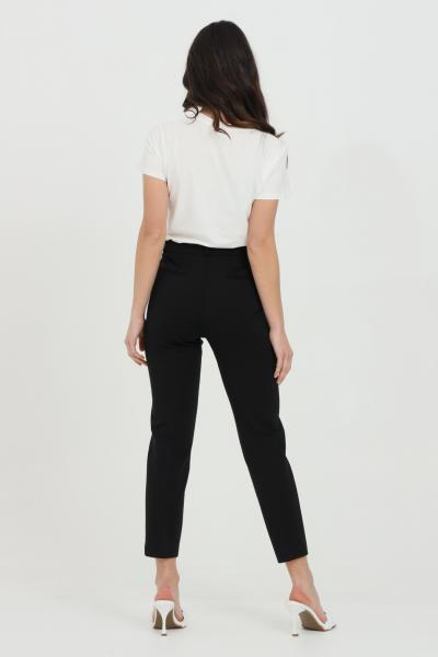 PINKO Pantalone donna nero pinko elegante modello cigarette  Pantaloni | 1G15LF-5872Z99
