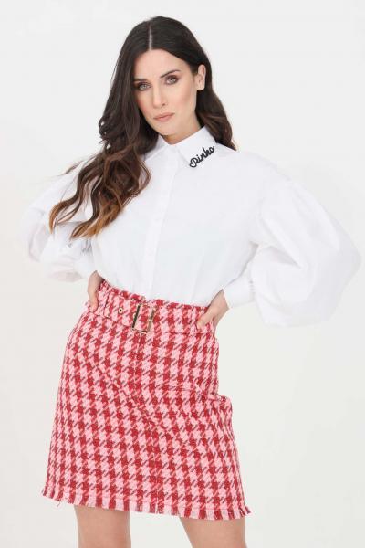 PINKO Camicia donna bianco pinko elegante con maniche ampie  Camicie | 1N1376-6827Z04