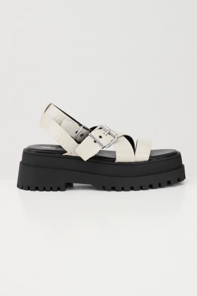 PUBLIC DESIRE Sandali donna beige-nero public desire chiusura regolabile con fibbia  scarpe | FOLLOWBEIGE