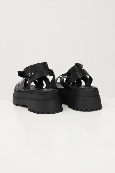 PUBLIC DESIRE Sandali donna nero public desire chiusura regolabile con fibbia  scarpe | FOLLOWBLACK