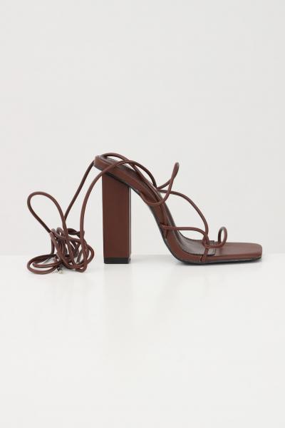 PUBLIC DESIRE Sandali mollie chocolate donna marrone public desire  scarpe | MOLLIECHOCOLATE
