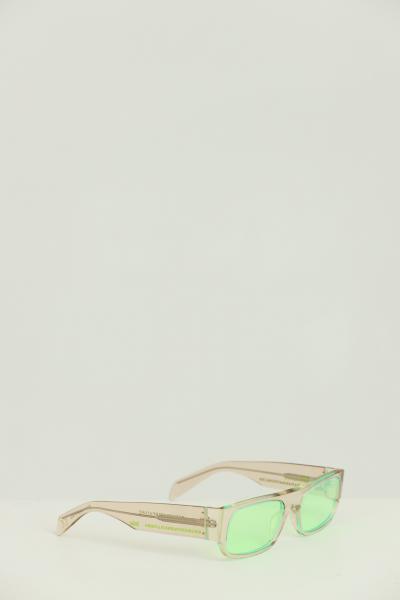RETROSUPERFUTURE Occhiali unisex trasparente Retrosuperfuture con vetri opalescenti verde  Occhiali | 8CH-54VAULT