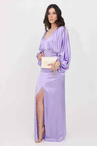 SIMONA CORSELLINI Abito donna lavanda simona corsellini lungo  Abiti   P21CPAB030-01-TRAS00250500