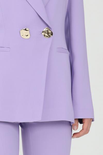 SIMONA CORSELLINI Giacca donna lavanda simona corsellini doppiopetto con bottoni oro con tasche a filetto. Revers a lancia. Taglio comodo classic  Giacche   P21CPGI012-01-TCAD00010500