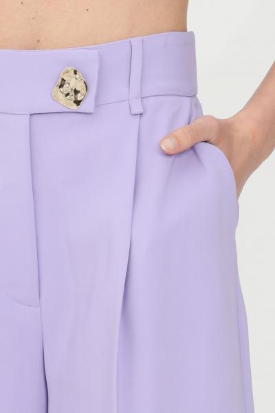 SIMONA CORSELLINI Shorts donna lavanda simona corsellini elegante  Shorts   P21CPSH001-01-TCAD00010500