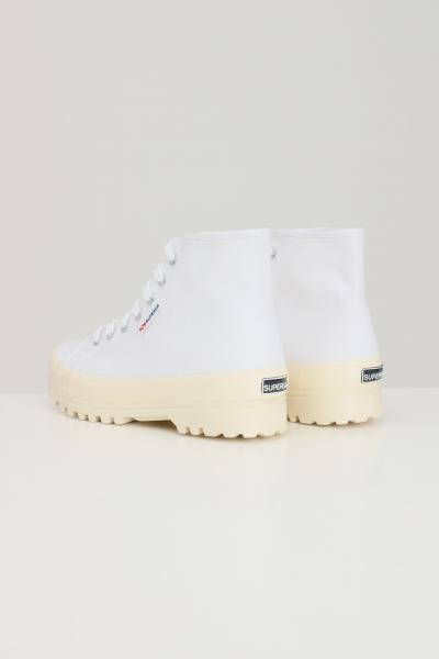 SUPERGA Sneakers superga 2341 alpina shiny gum donna bianco  Sneakers   S111TCWA8I
