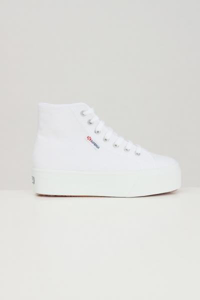 SUPERGA Sneakers superga 2705 hi top donna bianco  Sneakers | S3111MW901