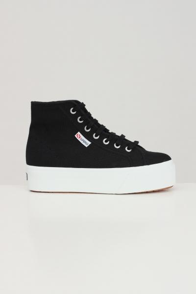 SUPERGA Sneakers superga 2705 hi top donna nero  Sneakers   S3111MWF83