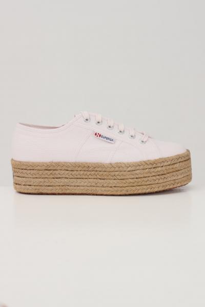 SUPERGA Sneakers donna rosa superga chiusura con lacci  Sneakers | S51186W351