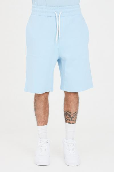 THE FUTURE Shorts unisex celeste the future casual in tinta unita  Shorts | TF0003CIELO