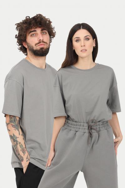 THE FUTURE T-shirt unisex grigio the future a manica corta  T-shirt | TF0004GREY