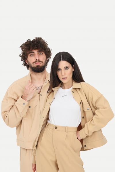 THE FUTURE Giubbotto unisex beige the future giacca a vento  Giubbotti | TF0007BEIGE