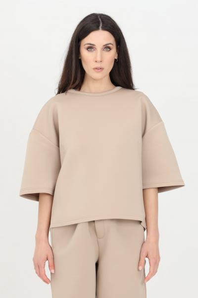 THE FUTURE T-shirt unisex beige the future a manica corta  T-shirt | TF0016BEIGE