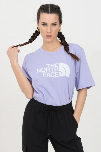 THE NORTH FACE T-shirt coordinates donna glicine the north face a manica corta con maxi stampa logo a contrasto. Modello comodo  T-shirt | NF0A4M5PW231W231