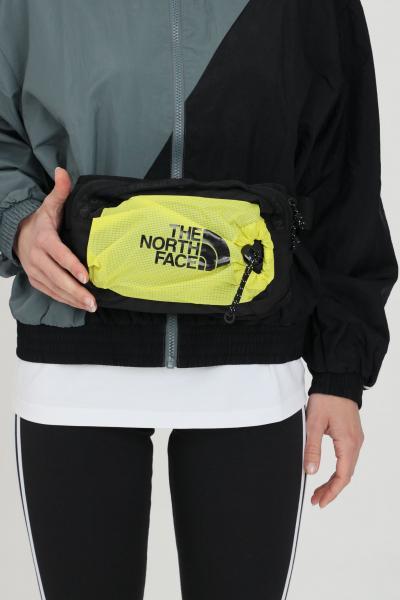 THE NORTH FACE Marsupio BOZER HIP PACK unisex nero-giallo con logo frontale a contrasto  Marsupi | NF0A52RWC6T1C6T1
