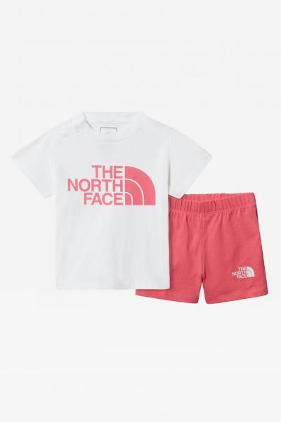 THE NORTH FACE Set completo neonato bicolore the north face con logo sul fronte  Completini   NF0A55MJ3AQ13AQ1