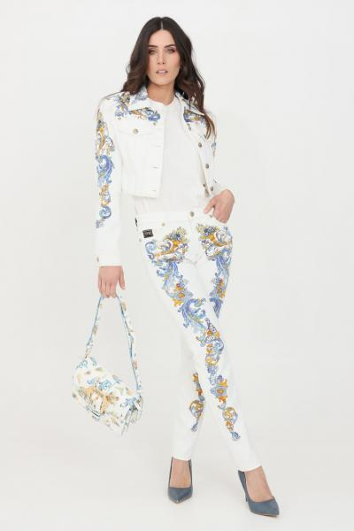 VERSACE JEANS COUTURE Jeans donna bianco versace jeans couture  Jeans | A1HWA0SPSS154E70