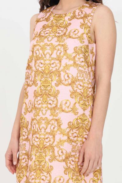 VERSACE JEANS COUTURE Abito corto donna rosa Versace Jeans Couture corto  Abiti | D2HWA449S0987402