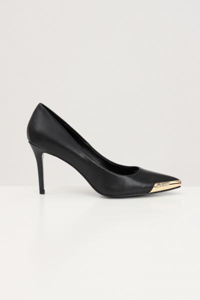 VERSACE JEANS COUTURE Decollete donna nere versace jeans couture con punta oro  scarpe | E0VWAS5071977899