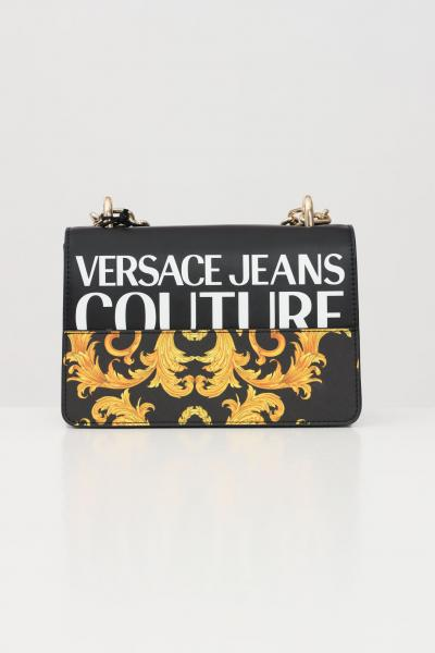 VERSACE JEANS COUTURE Borsa donna fantasia versace jeance couture con tracolla  Borse   E1VWABG371727M27