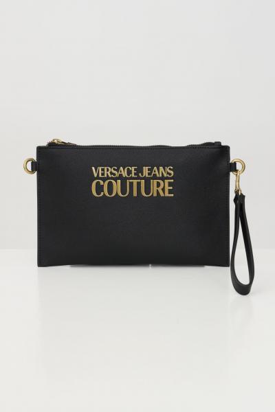 VERSACE JEANS COUTURE Borsa donna nero versace jeans couture pochette con tracolla  Borse | E1VWABLX71879899