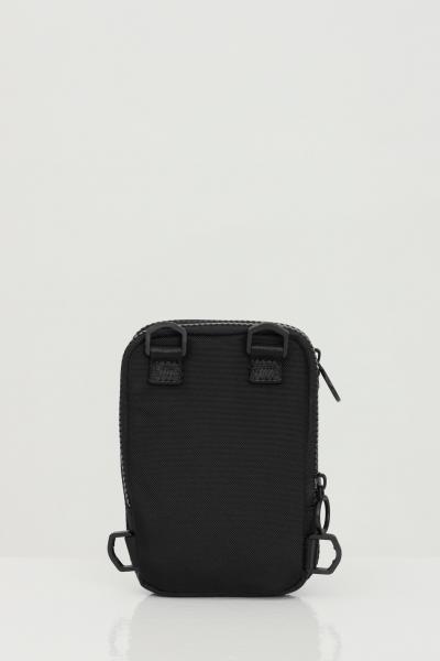 VERSACE JEANS COUTURE Borsello uomo nero versace jeans couture con tracolla e logo a contrasto  Borse   E1YWAB1671890899