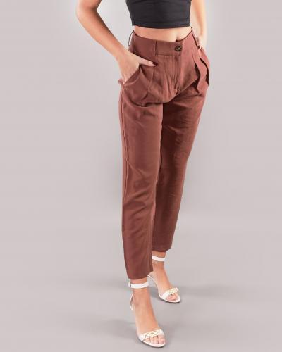 NENETTE Pantalone con pences Nenette  Pantaloni | ELMO629