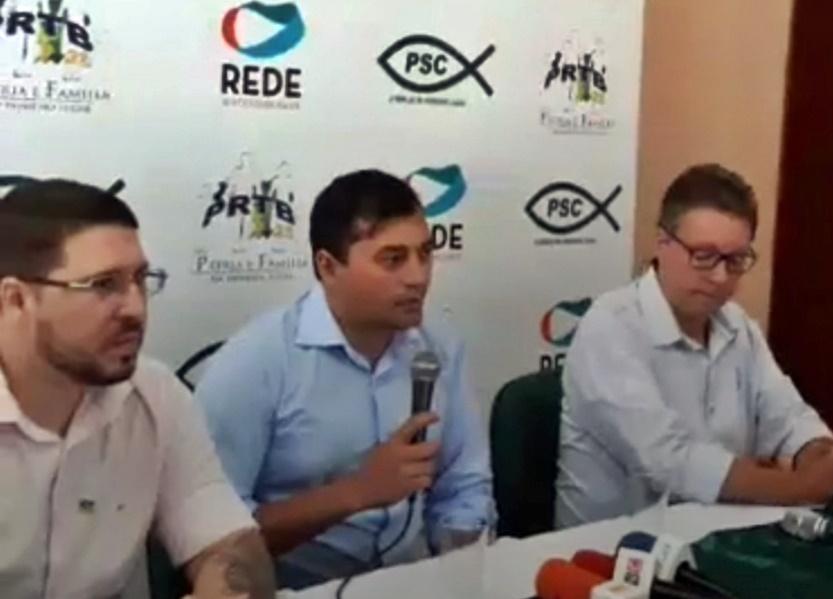 Wilson Lima confirmou dobradinha com Carlos Almeida para o Governo
