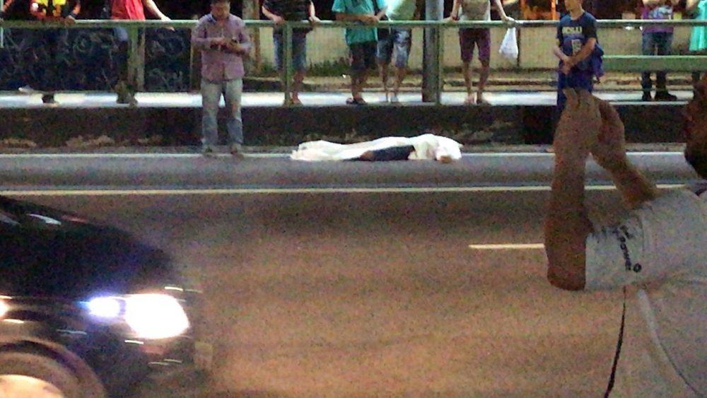 Homem morre ao ser atropelado na Torquato Tapajós
