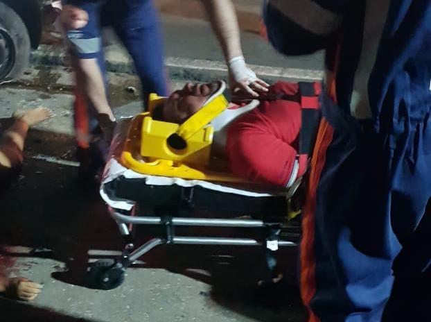 Mulher morre esmagada após carro capotar na Cidade Nova