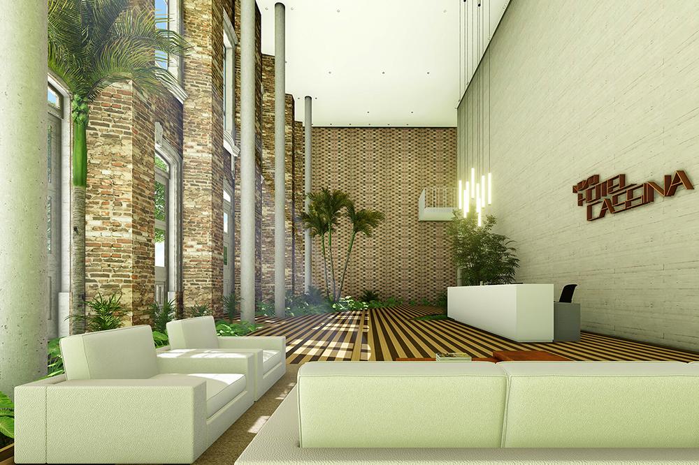 EXCLUSIVO Novo hotel Cassina