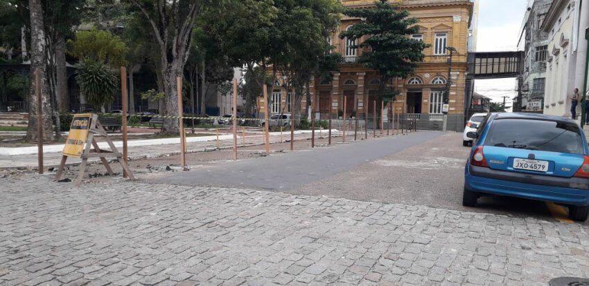 Praca Dom Pedro Ii Tera Requalificacao E Obra Preve Desenho Urbano