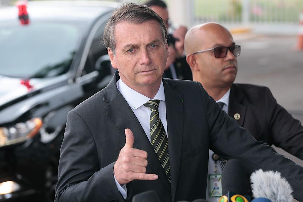 Resultado de imagem para bolsonaro em brasilia