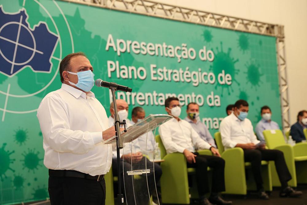 O discurso do ministro Pazuello