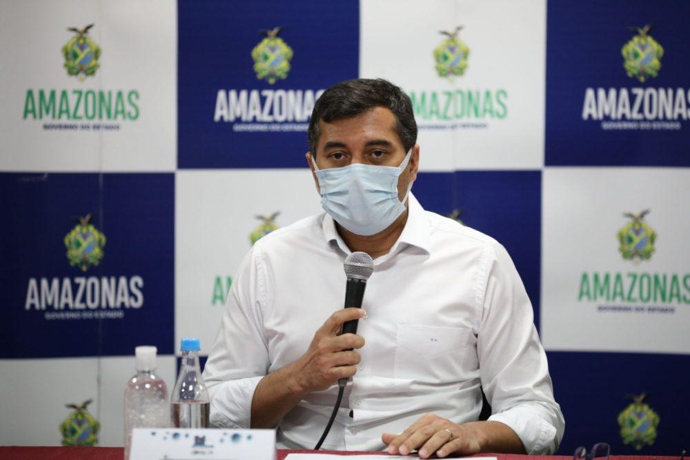 Wilson Lima destaca esforços para garantir abastecimento de O2 e diz não ter dívida com White Martins