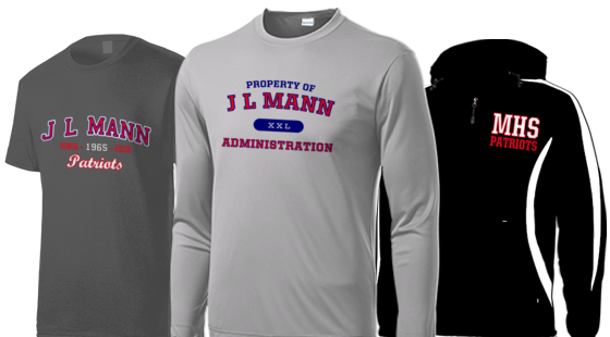 online store 8a2e2 c9d85 J L Mann High School Apparel Store   Greenville South ...