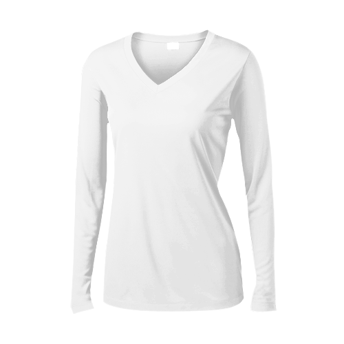 ELPS Private Detective Agency ELPS Womens Long Sleeve V-Neck Competitor T-Shirt