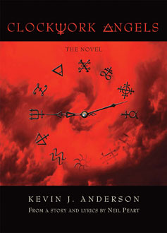 Clockwork Angels the novel photo