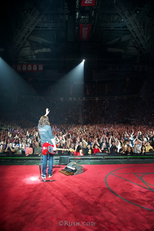 Geddy Lee in Houston photo