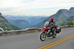 neil peart in glacier national park photo