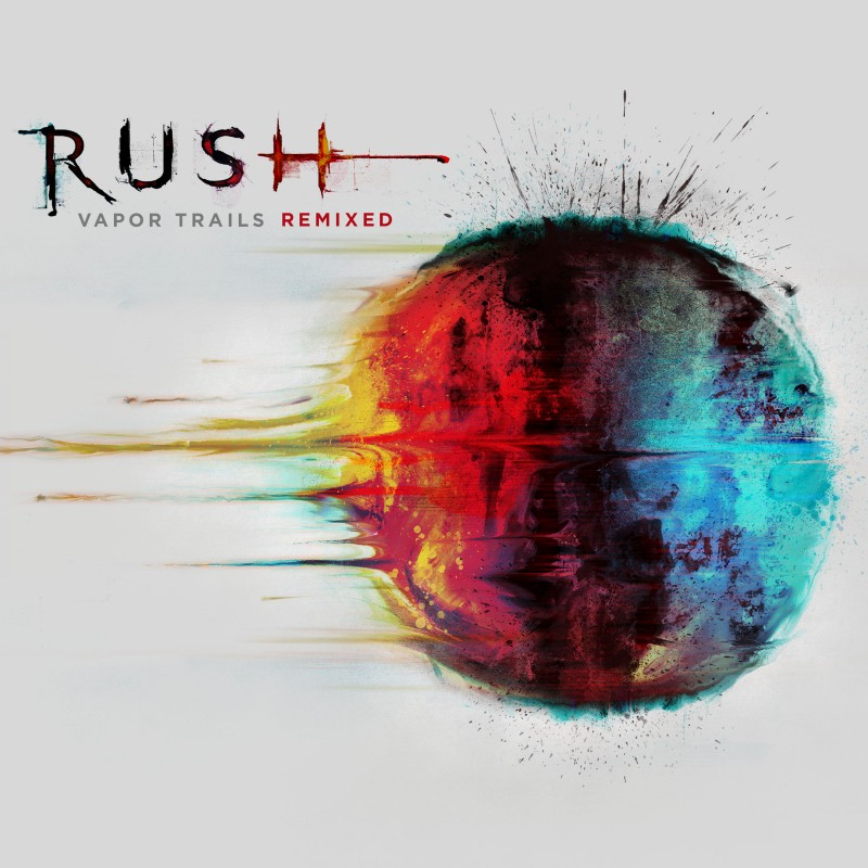 Rush vapor trails remix cover photo