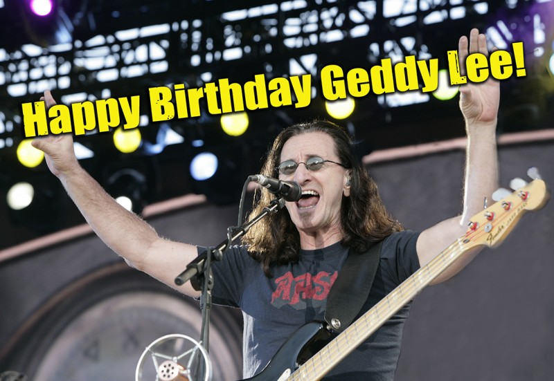 Happy Birthday Geddy photo