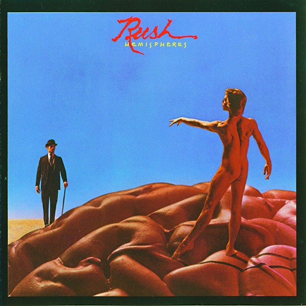 RUSH Hemispheres Cover