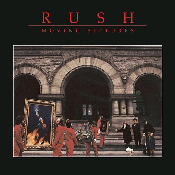 RUSH Moving Pictures Cover