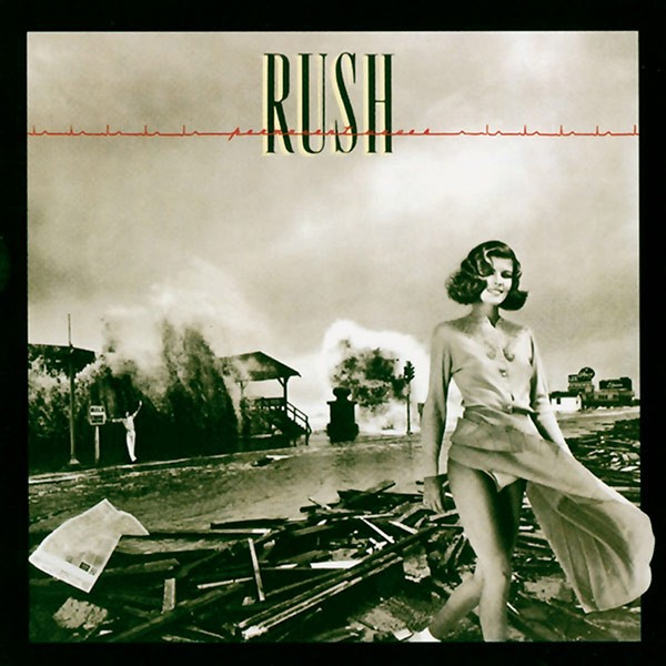 RUSH Permanent Waves Cover