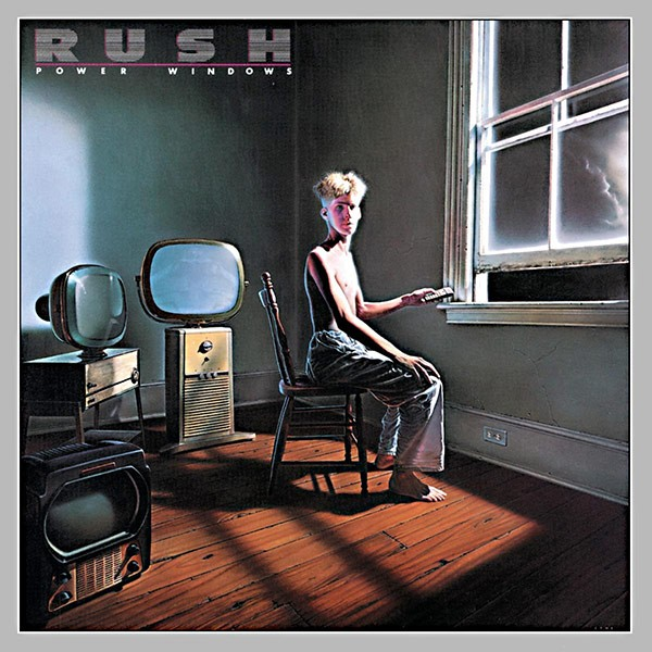 RUSH Power Windows Cover