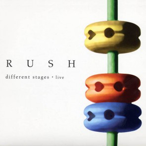 RUSH Different Stages Cover