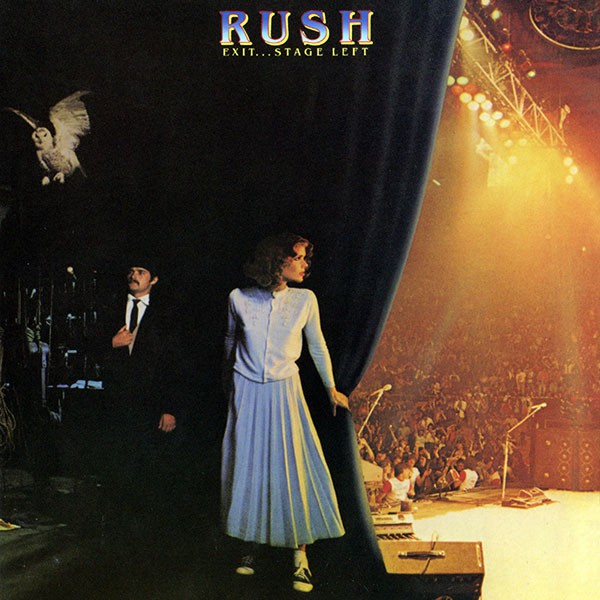 RUSH Exit… Stage Left Cover