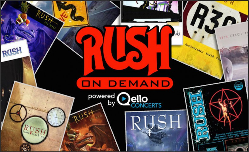"""Introducing """"Rush On Demand"""" powered by Qello Concerts"""