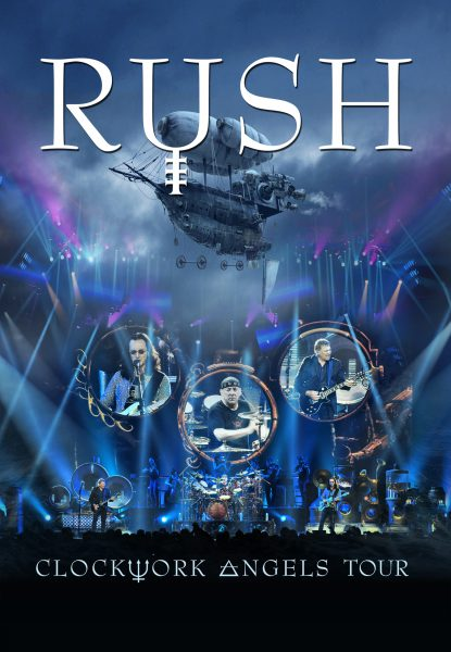 RUSH Clockwork Angels Tour Cover